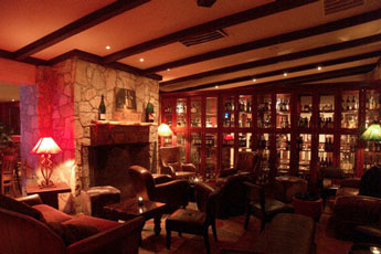 The Fireplace Room at The Grill at Leon Springs